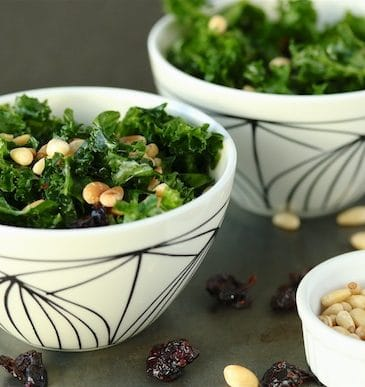 Date-Nut Kale Salad from Well Fed Weeknights (+ Giveaway)