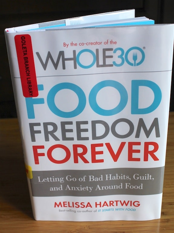 Food Freedom Forever is a great book by Melissa Hartwig about how to stick with a healthy diet without guilt or over-restriction.