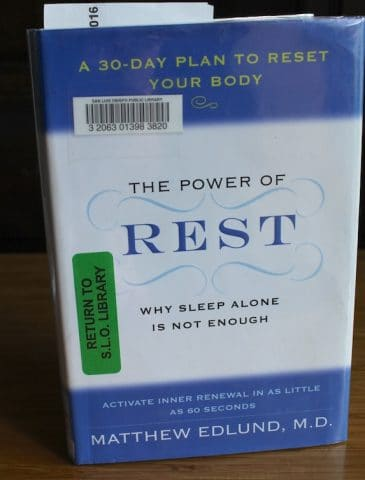 Power of Rest book