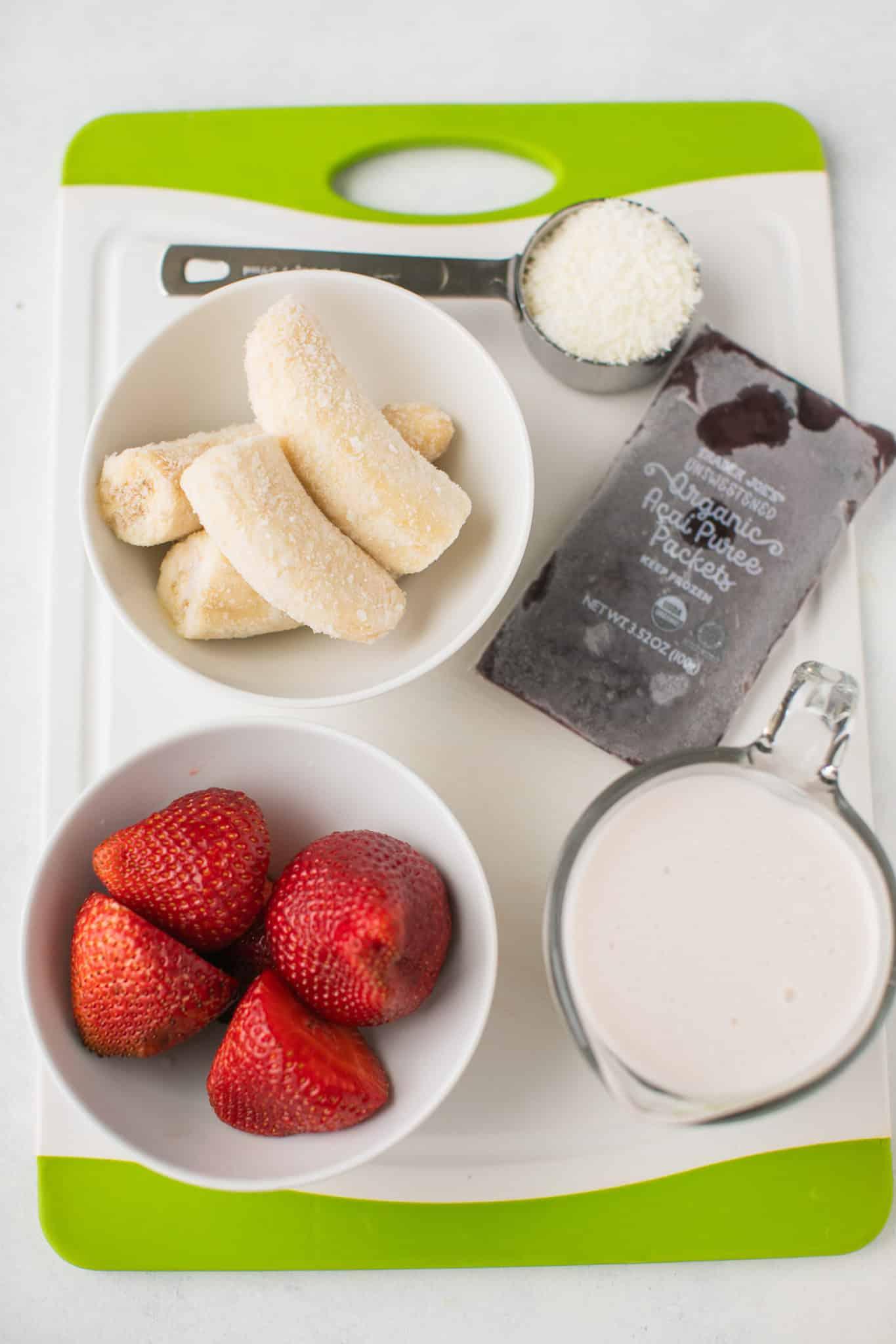 acai smoothie ingredients