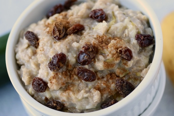 Have you ever heard of zoats? It's zucchini and oats for a comforting, healthy breakfast.