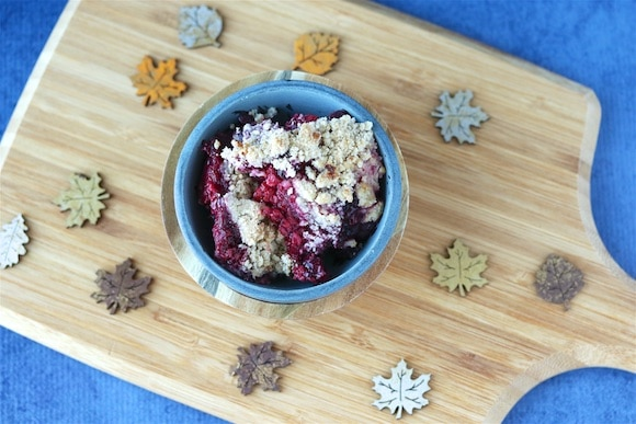Grain Free Berry Crumble
