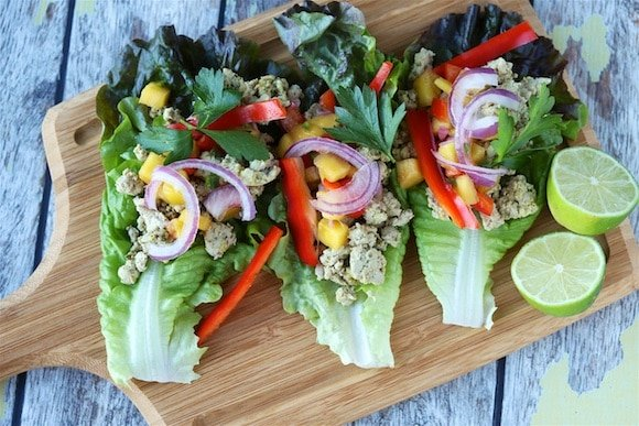 Organic Turkey Lettuce Cups