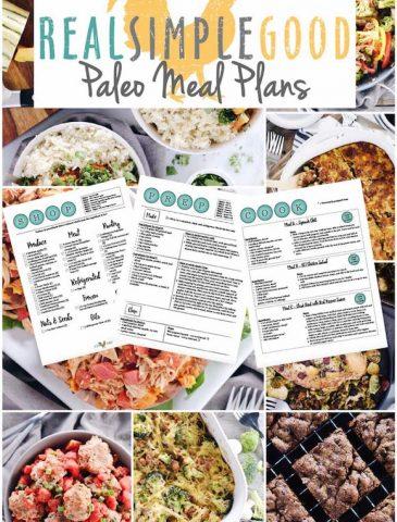 RSG Paleo Meal Planning