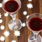 Sparkling Tart Cherry Orange Juice