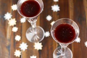 Sparkling Tart Cherry Mocktail