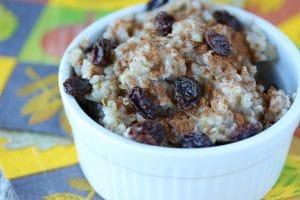 Cinnamon Roll Buckwheat Porridge (Gluten-Free & Vegan)