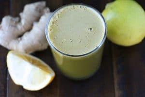 Lemon & Ginger Green Juice
