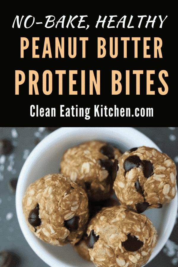 Peanut Butter Protein Bites