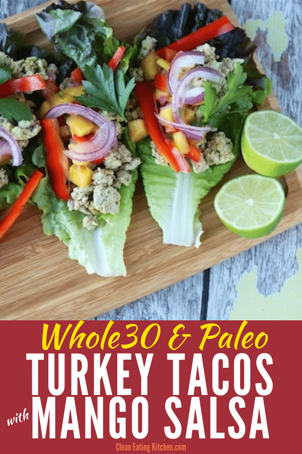 Whole30 Turkey Tacos