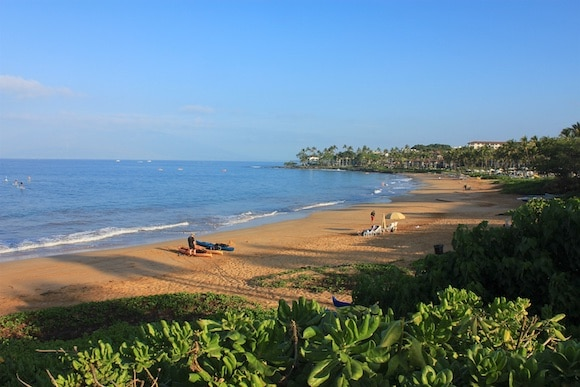 Four Seasons Maui beach