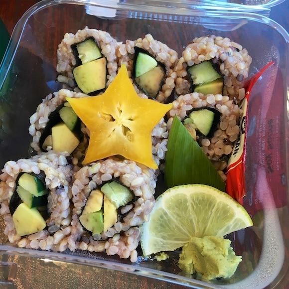 Maui vegan sushi