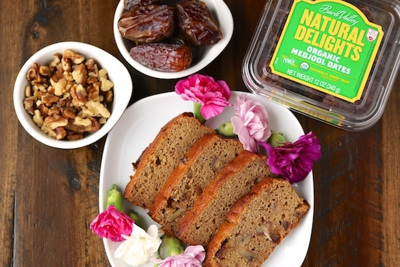 Natural Delights Organic Date Nut Bread