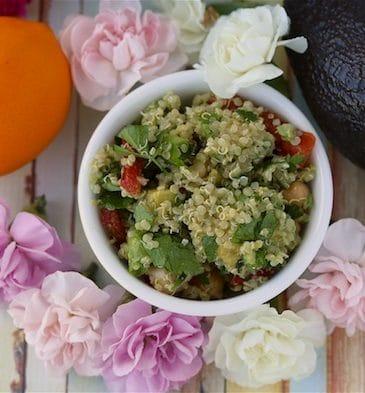 Quinoa & Chickpea Salad (Gluten-Free & Vegan)