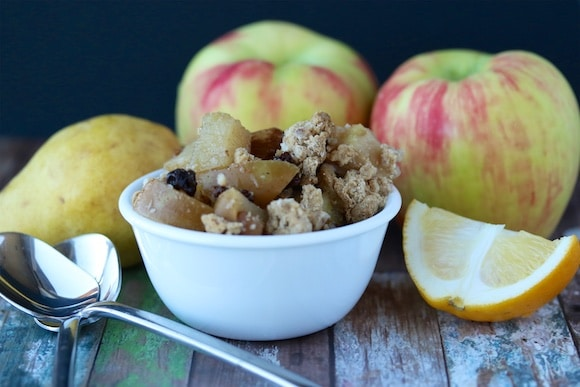 Apple Pear Crumble