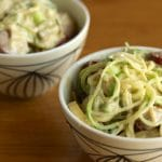 Creamy Zoodles with Sausage