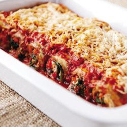 Eggplant Cannelloni from the Eat to Live cookbook. Vegan recipe, nutritarian recipe, eat to live cannelloni, vegan lasagna
