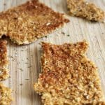 Smoked Paprika Corn Crackers Clean Eating Kitchen