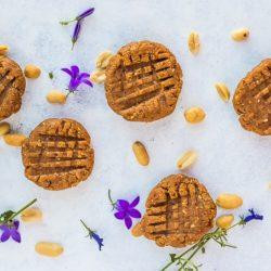 5 pb no bake cookies