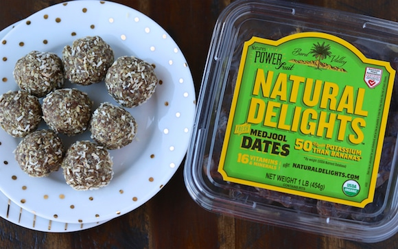 Natural Delights Date Hemp Energy Balls