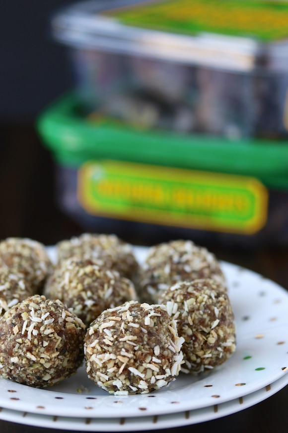 Organic Natural Delights Date Hemp Energy Balls