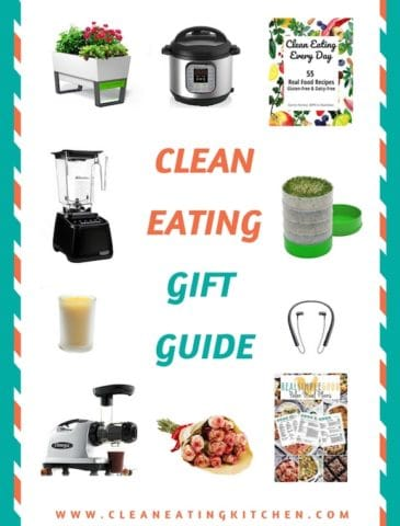 Gifts for the Clean Eating Kitchen. There's something here for everyone. | Clean eating kitchen, healthy gift guide, mother's day gifts, healthy kitchen