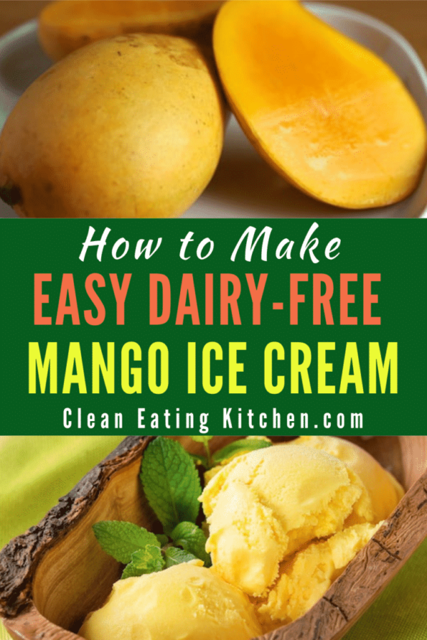 Easy Dairy-Free Mango Ice Cream