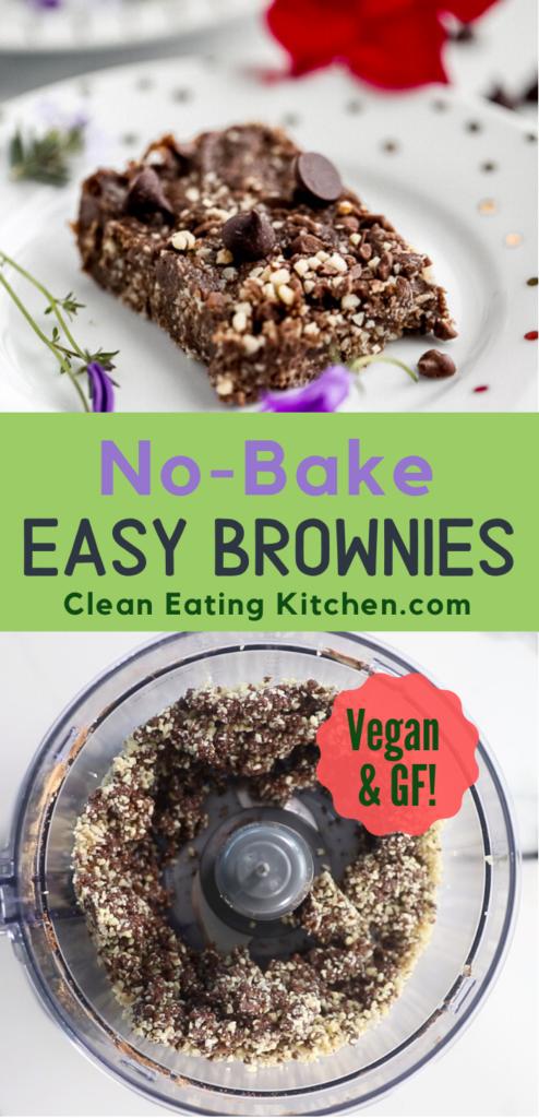no bake easy brownies