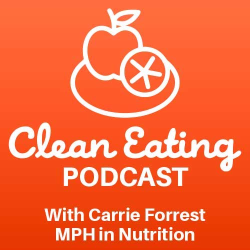 Clean Eating Podcast cover.