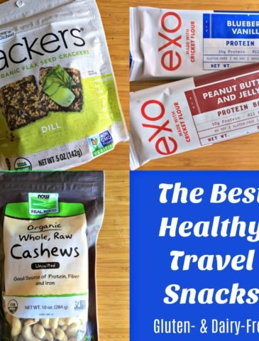 What's in My Travel Snack Bag {Gluten- & Dairy-Free}
