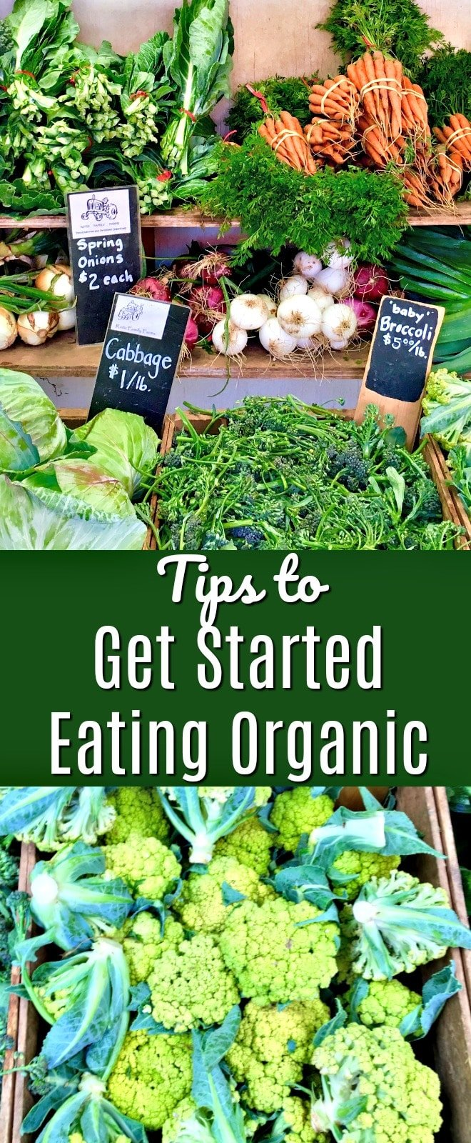 8 Tips for Getting Started Eating Organic, including how to stay on budget | clean eating, organic food, how to eat organic, budget food shopping