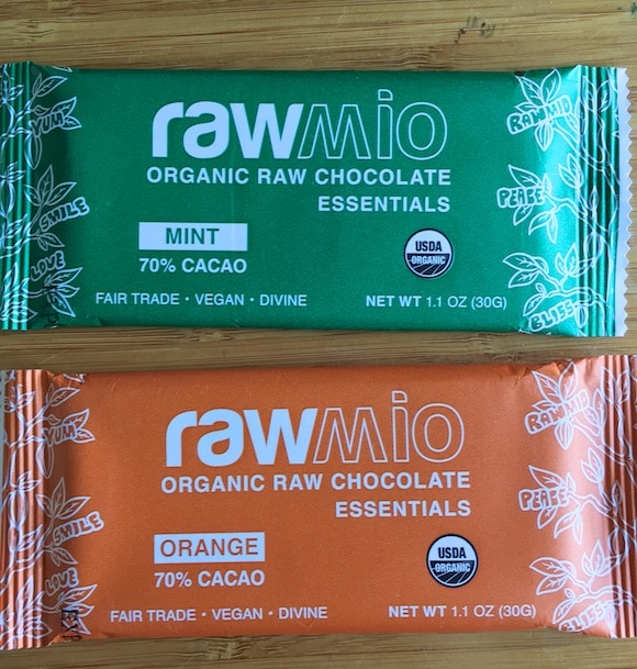 rawmio chocolate bars