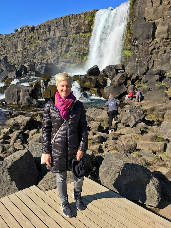 Carrie Golden Circle Iceland