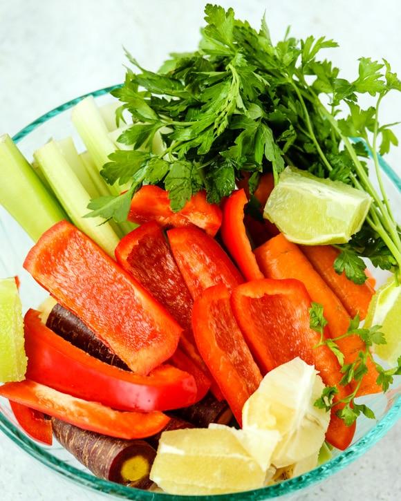Vegetable Detox Juice ingredients