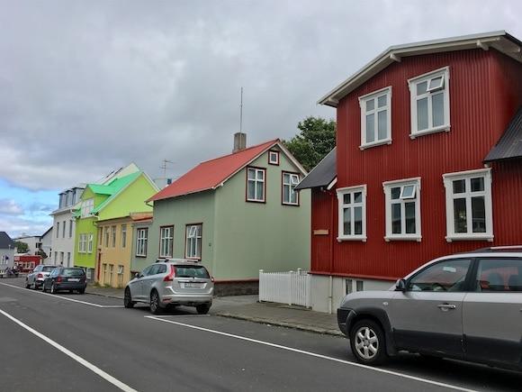 Reykjavik charming street