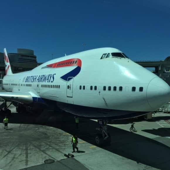 Double Decker Jet British Airways