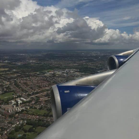 London landing