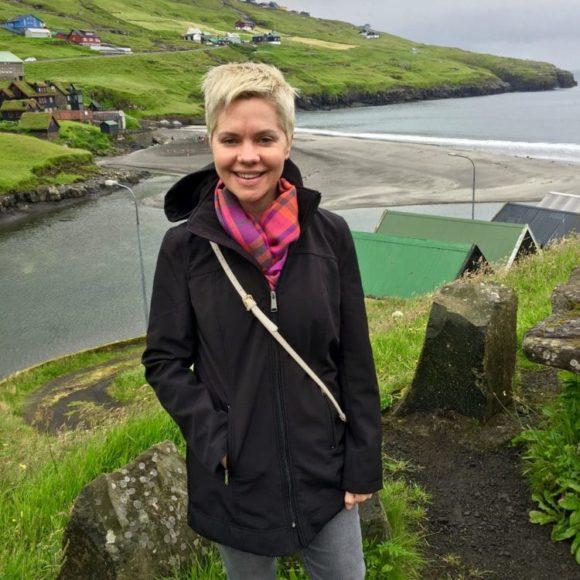 Carrie in the Faroe Islands