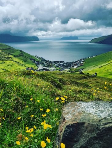 Faroe Islands from above