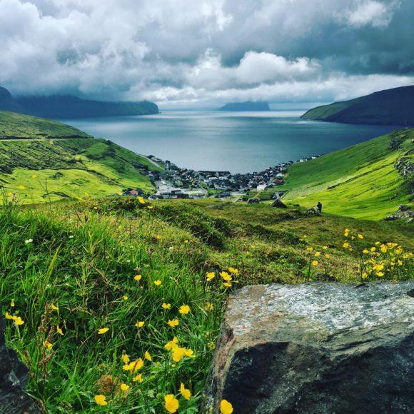 Faroe Islands from above
