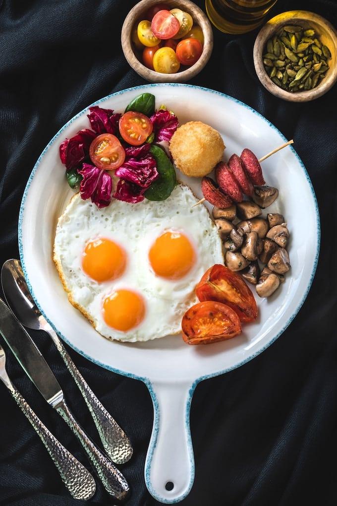 protein breakfast platte