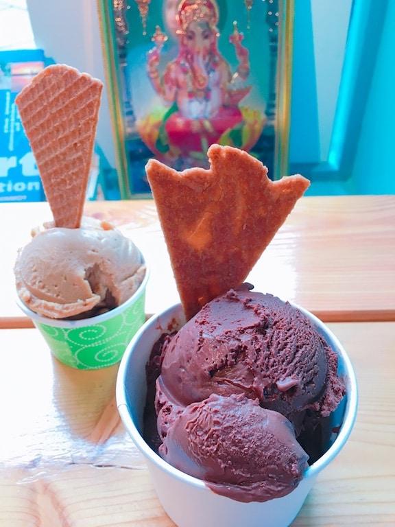 vegan ice cream iceland