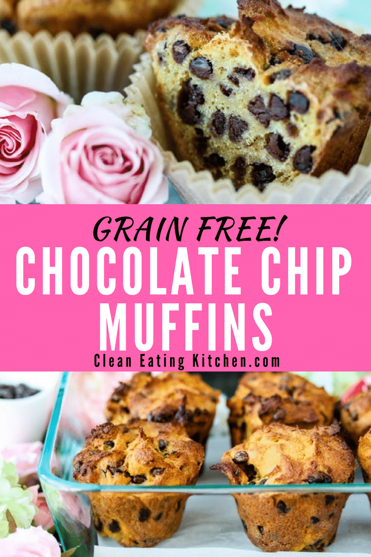 Grain Free Chocolate Chip Muffins