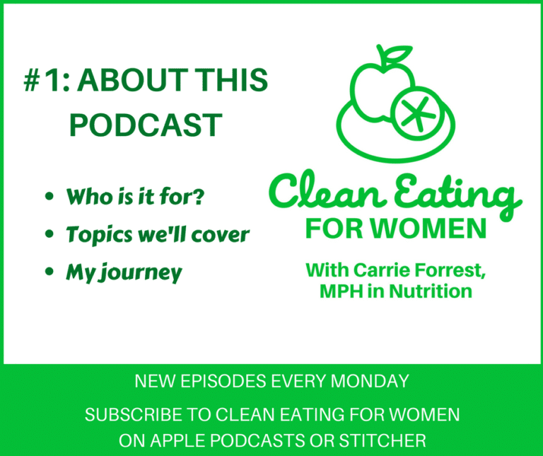 Clean Eating for Women podcast launch