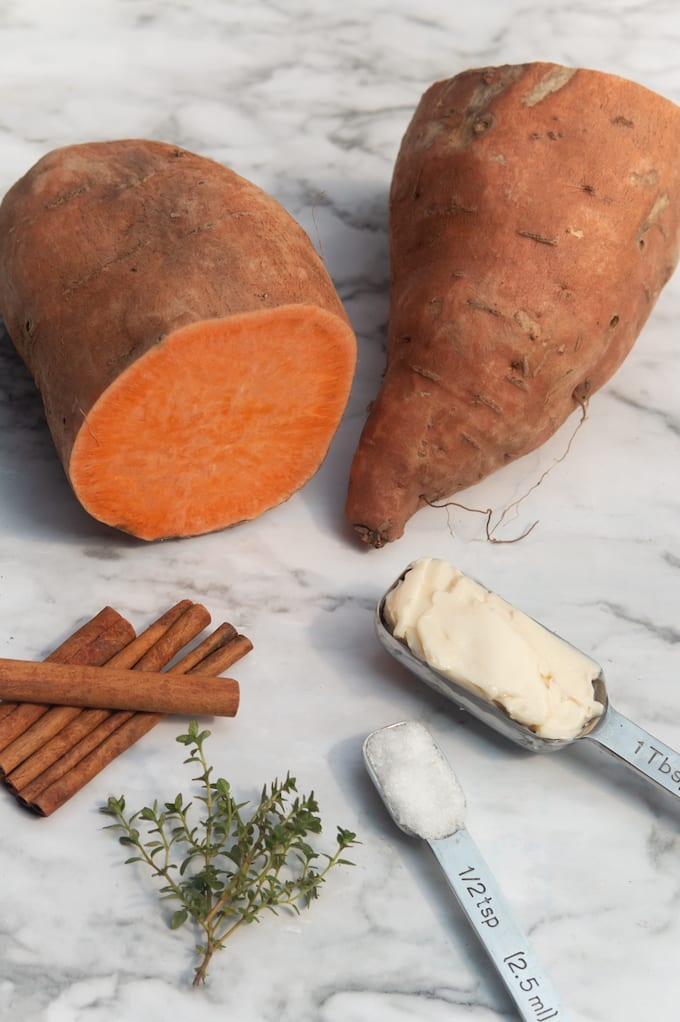 instant pot mashed sweet potato ingredients