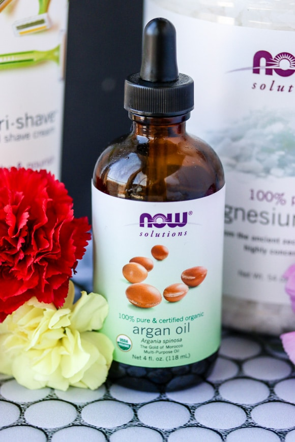 NOW Argan oil organic