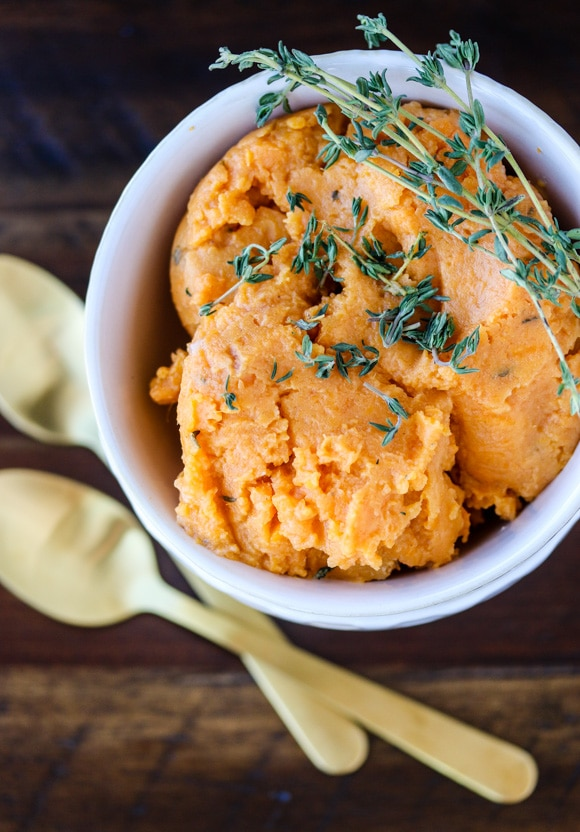 instant pot sweet potato mash