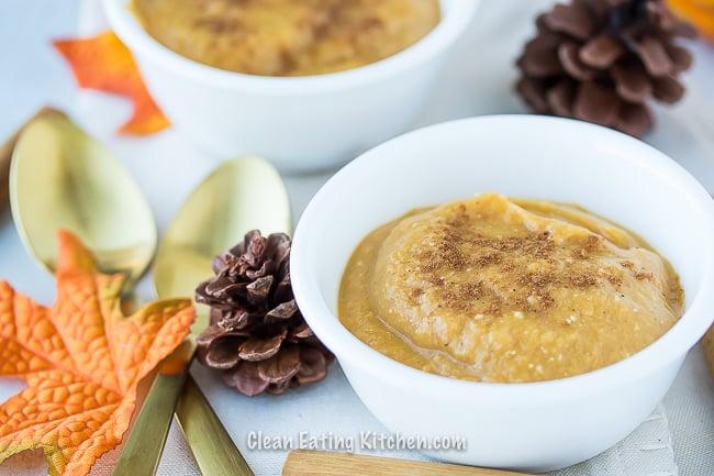 paleo pumpkin pie pudding