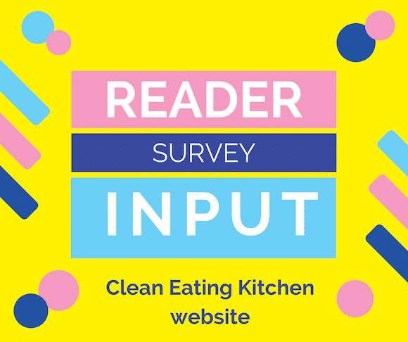 Reader Input Survey