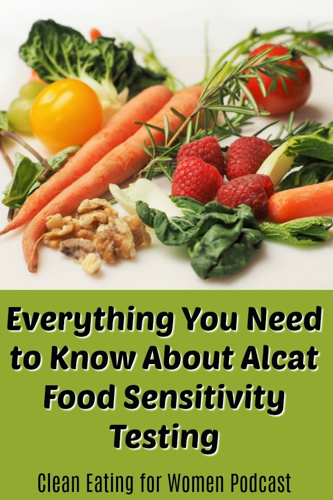This post includes information about the Alcat food sensitivity test, including an interview with the nutrition expert from the company. You'll find this on episode #12 of the Clean Eating for Women podcast, hosted by Carrie Forrest, MPH in Nutrition. | #podcast #nutrition #wellness #healthyliving